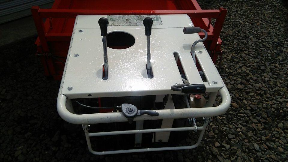 運搬車 油圧 ダンプ 500kg 各部動作します_画像7
