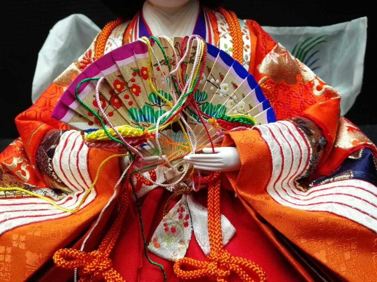 ひな祭り 雛壇 雛人形 6体_画像4