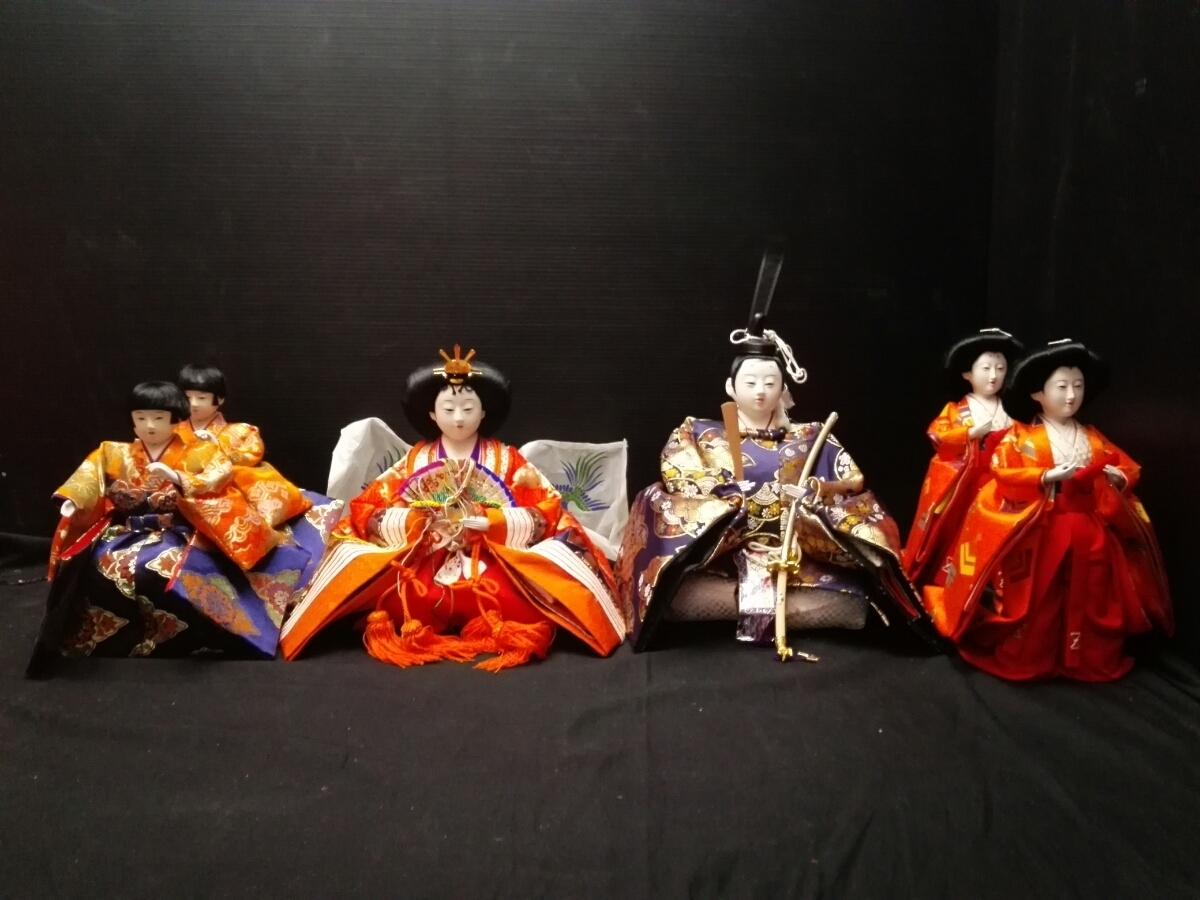 ひな祭り 雛壇 雛人形 6体