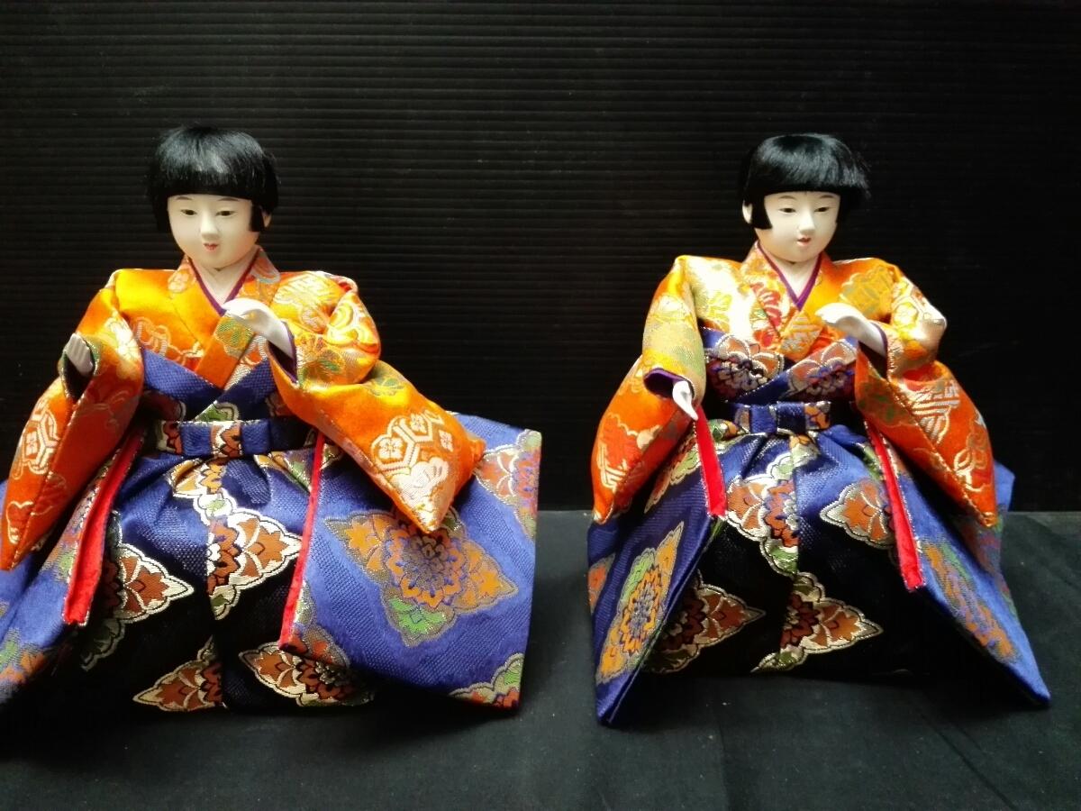 ひな祭り 雛壇 雛人形 6体_画像8
