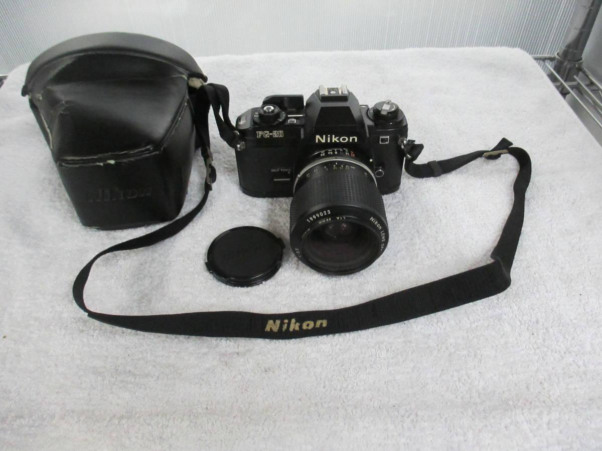 NIKON ニコン FG-20 カメラ LENS SERIES 36-72mm 1:3.5 レンズ 一眼レフ 中古 尾