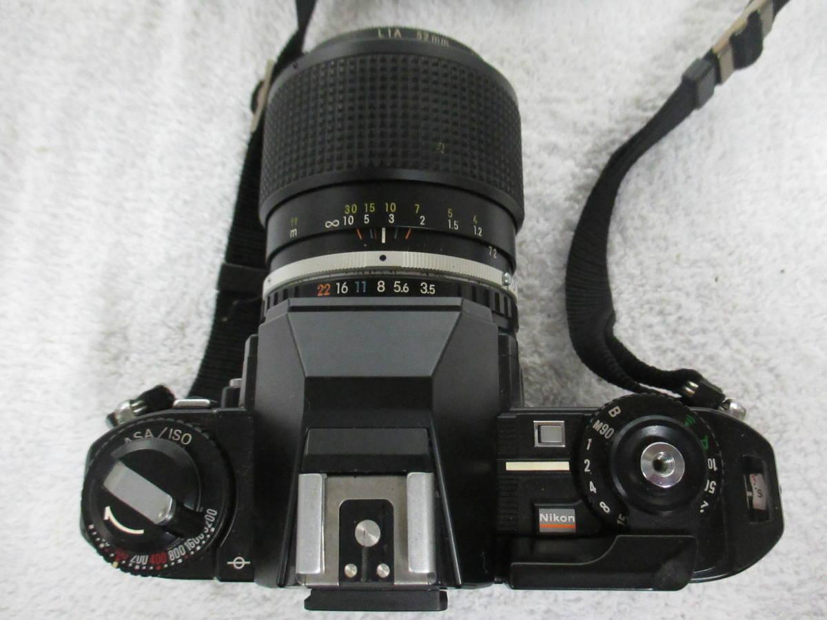 NIKON ニコン FG-20 カメラ LENS SERIES 36-72mm 1:3.5 レンズ 一眼レフ 中古 尾_画像9