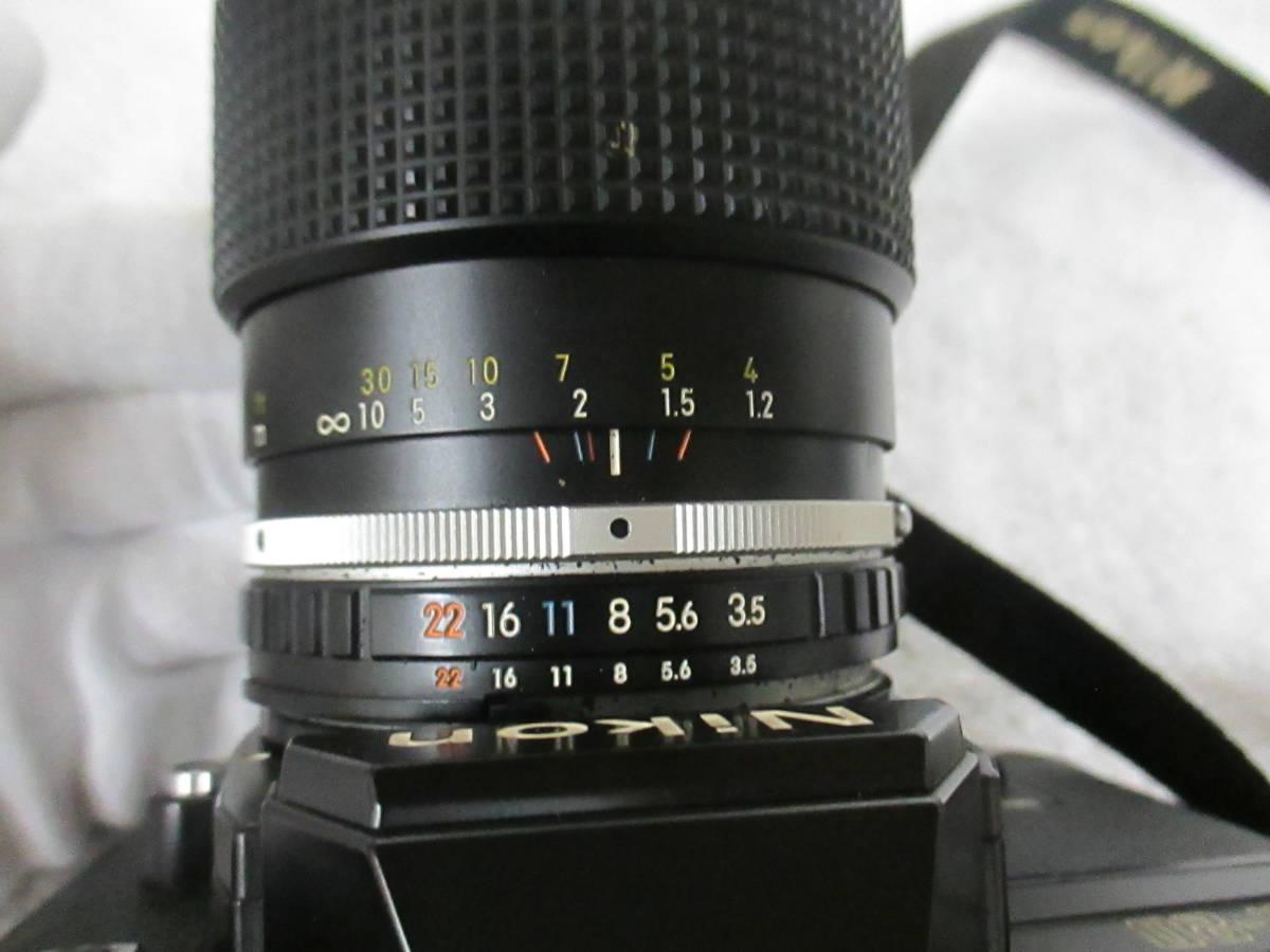 NIKON ニコン FG-20 カメラ LENS SERIES 36-72mm 1:3.5 レンズ 一眼レフ 中古 尾_画像10