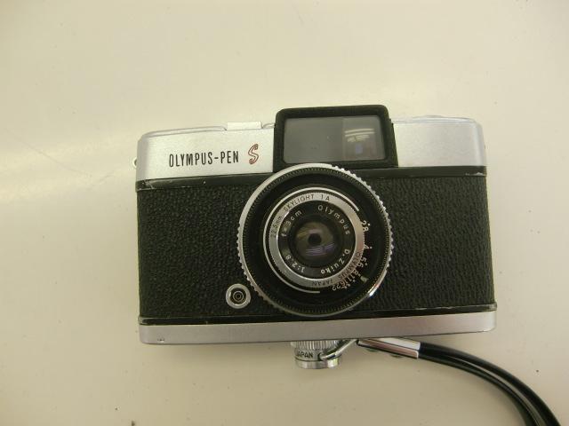 オリンパス OLYMPUS-PEN S カメラ D.Zuiko 1:2.8 f=3cm #鈴