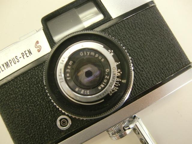 オリンパス OLYMPUS-PEN S カメラ D.Zuiko 1:2.8 f=3cm #鈴_画像2