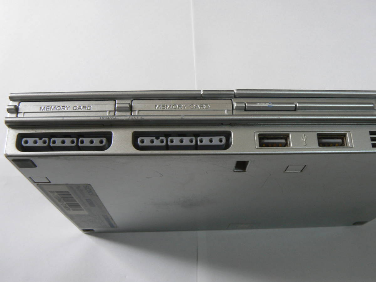 SONY PS2・PlayStation2・プレステ2 本体のみ SCPH-77000 薄型 動作確認済 シルバー ④_画像2