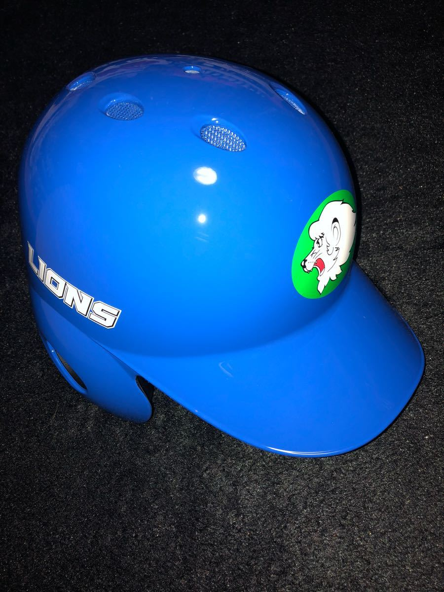 New, unused sold out goods Saitama Seibu Lions authentic helmet Lions Classic 2018 left batter for Mizuno made XO size sack with NPB