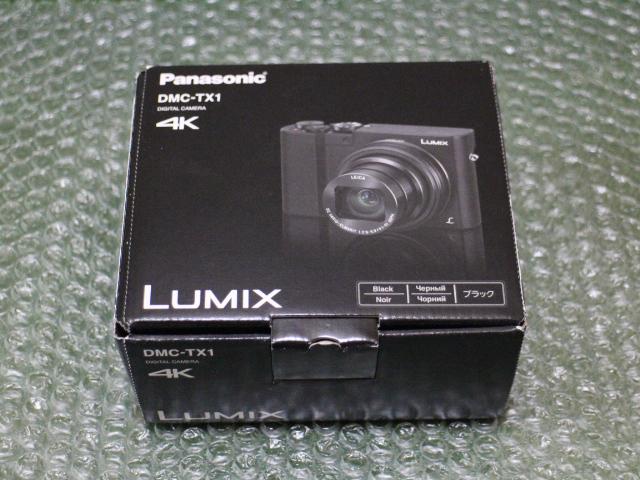 【新品】パナソニック LUMIX DMC-TX1-K ブラック デジタルカメラ