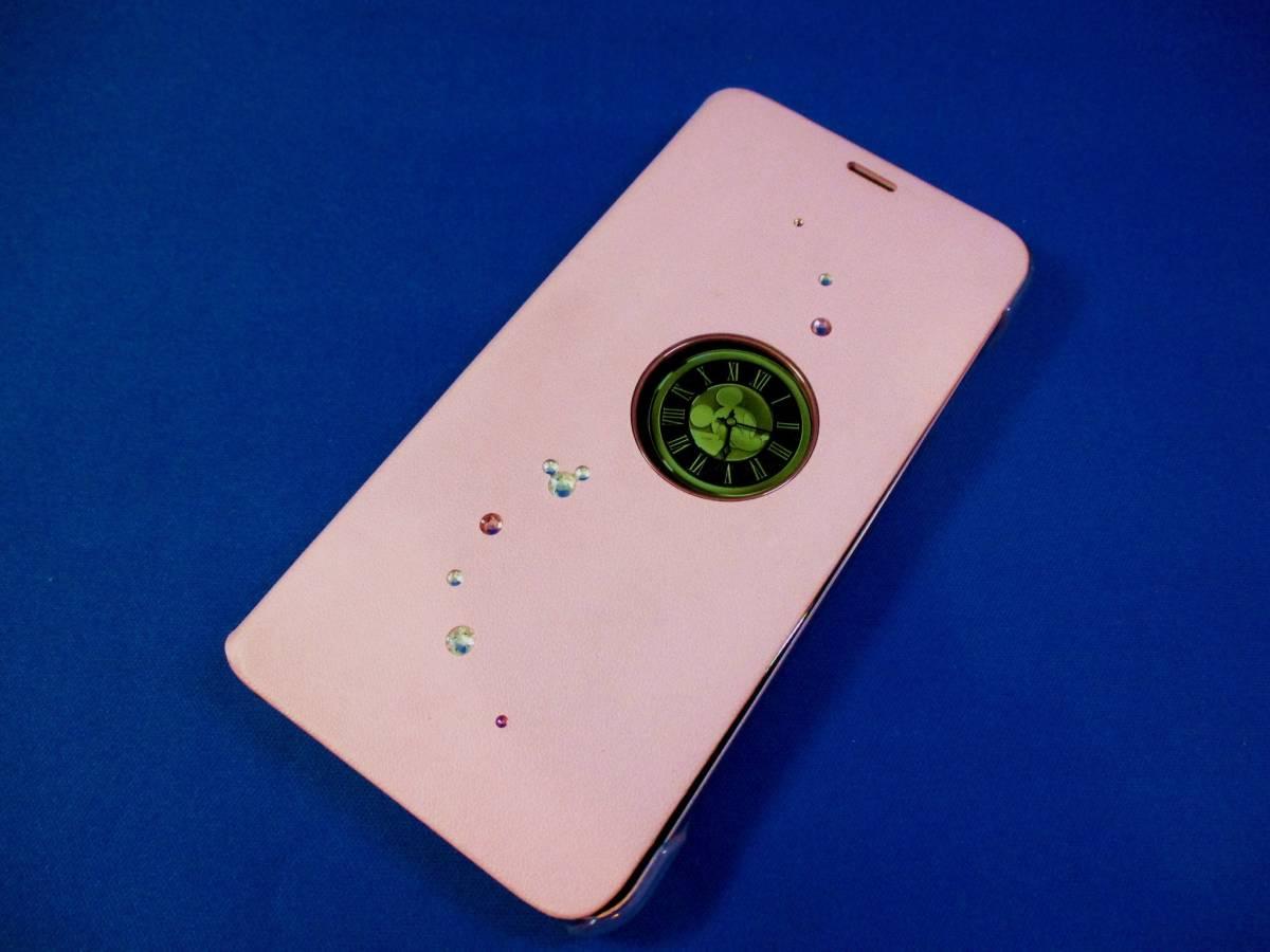 美品 ドコモ ディズニー DM-01K Disney Mobile on docomo ピンク 判定〇 ケース付_画像2