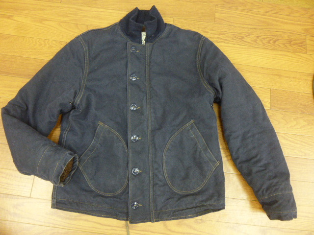 """FREEWHEELERS and COMPANY UNION SPECIAL OVERALLS1940s CIVILIAN MILITARY STYLE CLOTHING """"DECK JACKET""""n-1_画像1"""