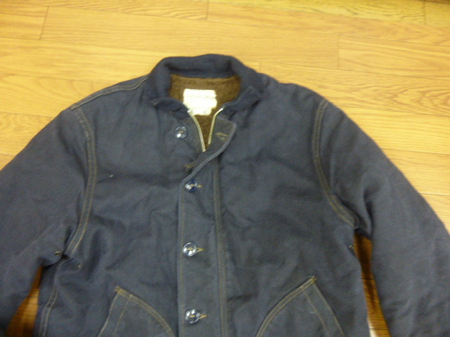"""FREEWHEELERS and COMPANY UNION SPECIAL OVERALLS1940s CIVILIAN MILITARY STYLE CLOTHING """"DECK JACKET""""n-1_画像2"""