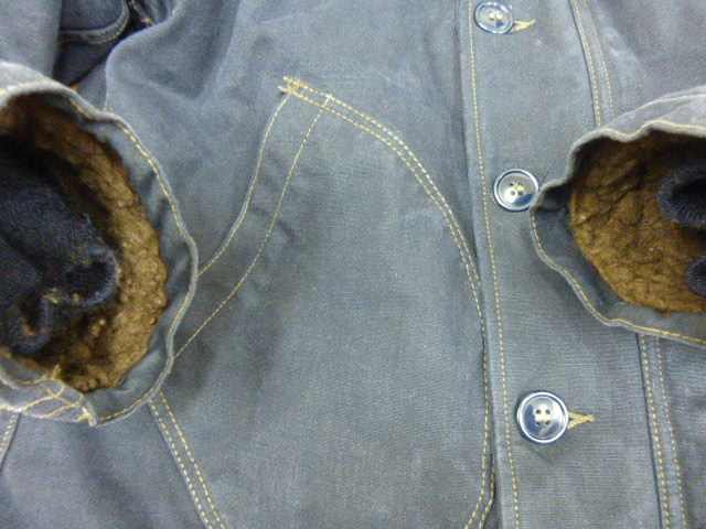 """FREEWHEELERS and COMPANY UNION SPECIAL OVERALLS1940s CIVILIAN MILITARY STYLE CLOTHING """"DECK JACKET""""n-1_画像10"""