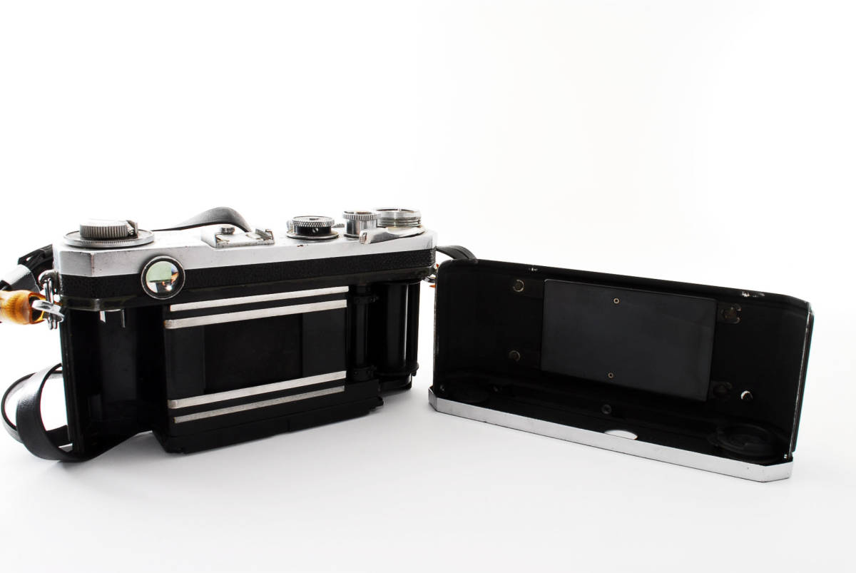 ★☆人気の名機! Nikon ニコンS2 後期型 黒ダイヤル #635☆★_画像6