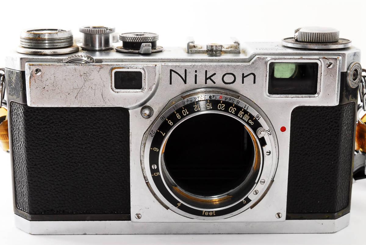 ★☆人気の名機! Nikon ニコンS2 後期型 黒ダイヤル #635☆★_画像3