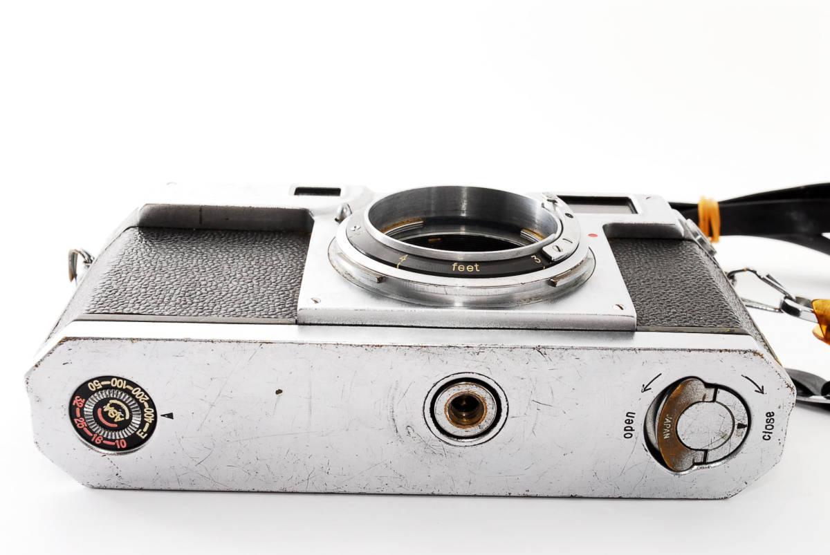 ★☆人気の名機! Nikon ニコンS2 後期型 黒ダイヤル #635☆★_画像8