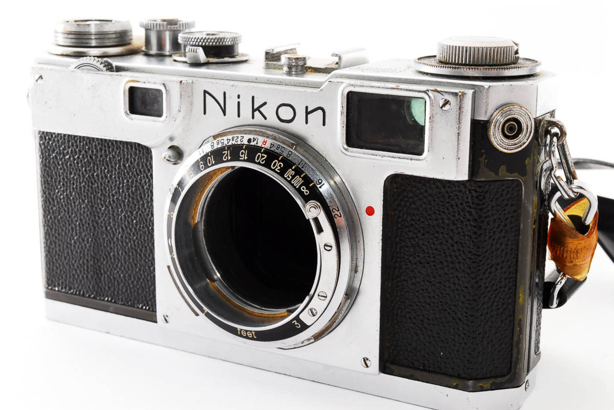 ★☆人気の名機! Nikon ニコンS2 後期型 黒ダイヤル #635☆★_画像2