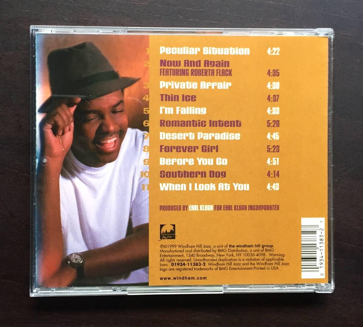 【CD】EARL KLUGH アール・クルー『 Peculiar Situation ピキュリア・シチュエーション 』1999年 ○温かなアコースティックギターアルバム_画像2