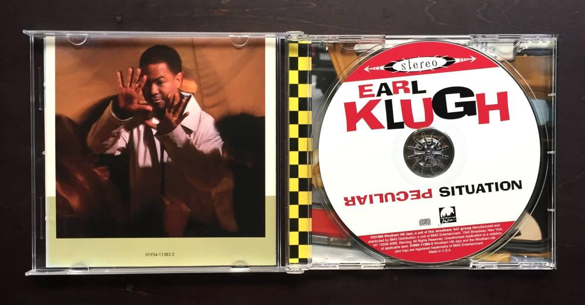 【CD】EARL KLUGH アール・クルー『 Peculiar Situation ピキュリア・シチュエーション 』1999年 ○温かなアコースティックギターアルバム_画像3