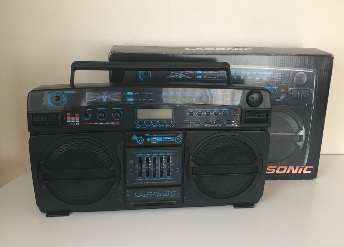 LASONIC i-931bt(ラソニック)/boombox/ラジオ・出力・Bluetooth_画像1