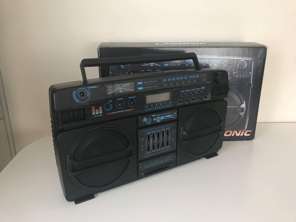 LASONIC i-931bt(ラソニック)/boombox/ラジオ・出力・Bluetooth_画像2