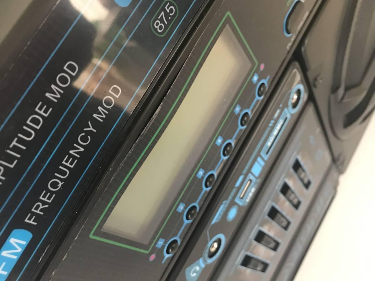 LASONIC i-931bt(ラソニック)/boombox/ラジオ・出力・Bluetooth_シール浮き