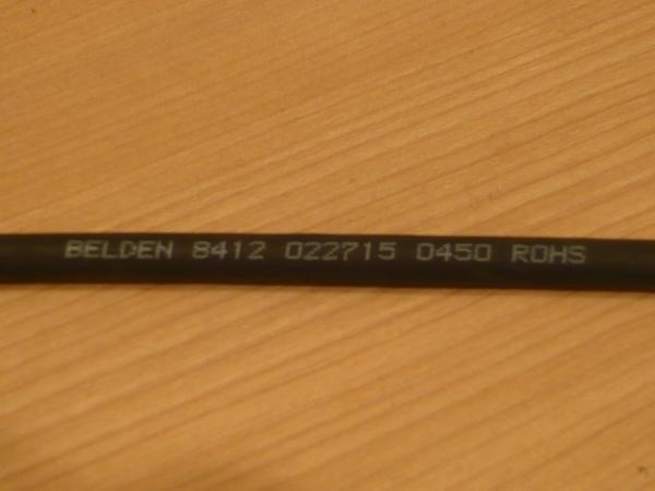 ★ 即決BELDEN 8412 RCAメス-ステレオミニプラグメス 3.5mm 変換ケーブル 50cm Yケーブル 金メッキ TOMOCA JS-613J NYS240L ★_画像10