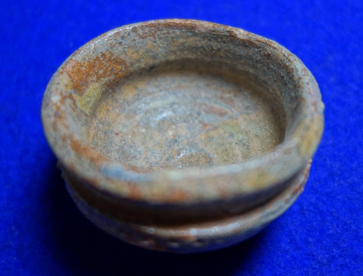早期越州窯 鳥の餌入れ 陶磁器研究_画像5