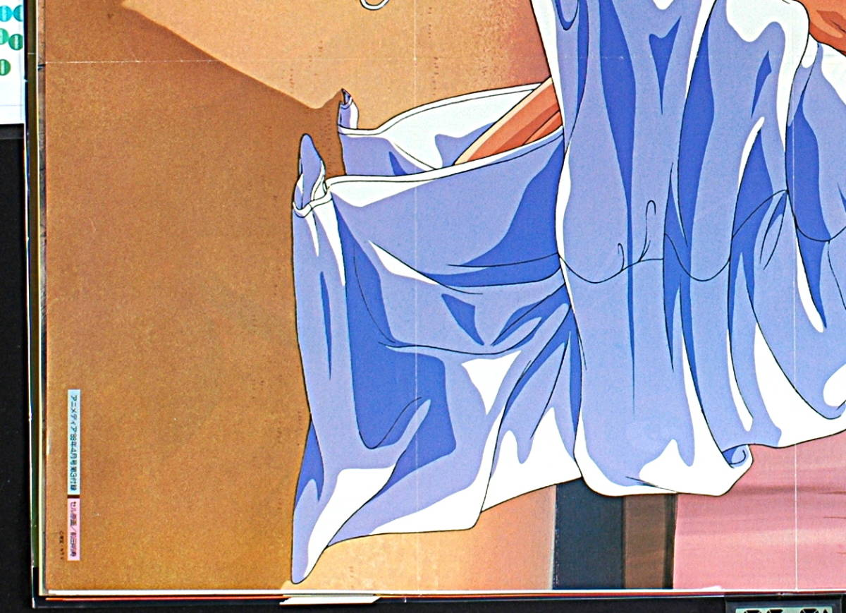 【未展示新品(難有り)】【宅配料込】1980s Animedia 超音戦士ボーグマンSonic Soldier Borgman Anice Farm&アニメ三銃士B2ポスター_画像7