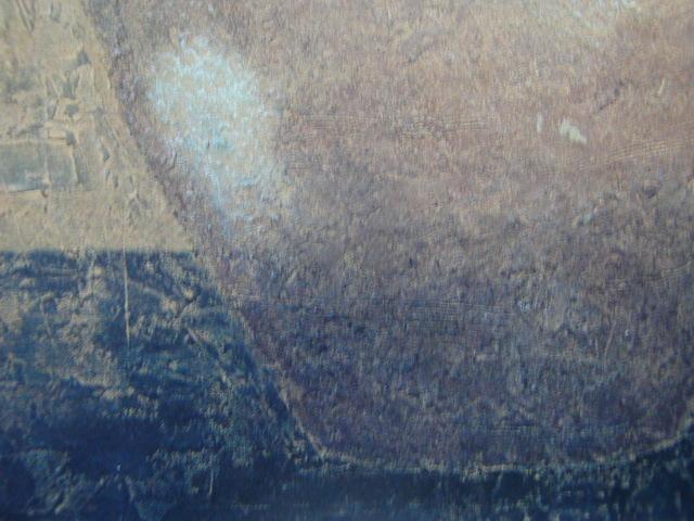 大藪 雅孝【古丹波の壷】、希少画集画、状態良好、新品高級額装付、送料無料、洋画 油彩 風景、so_画像4