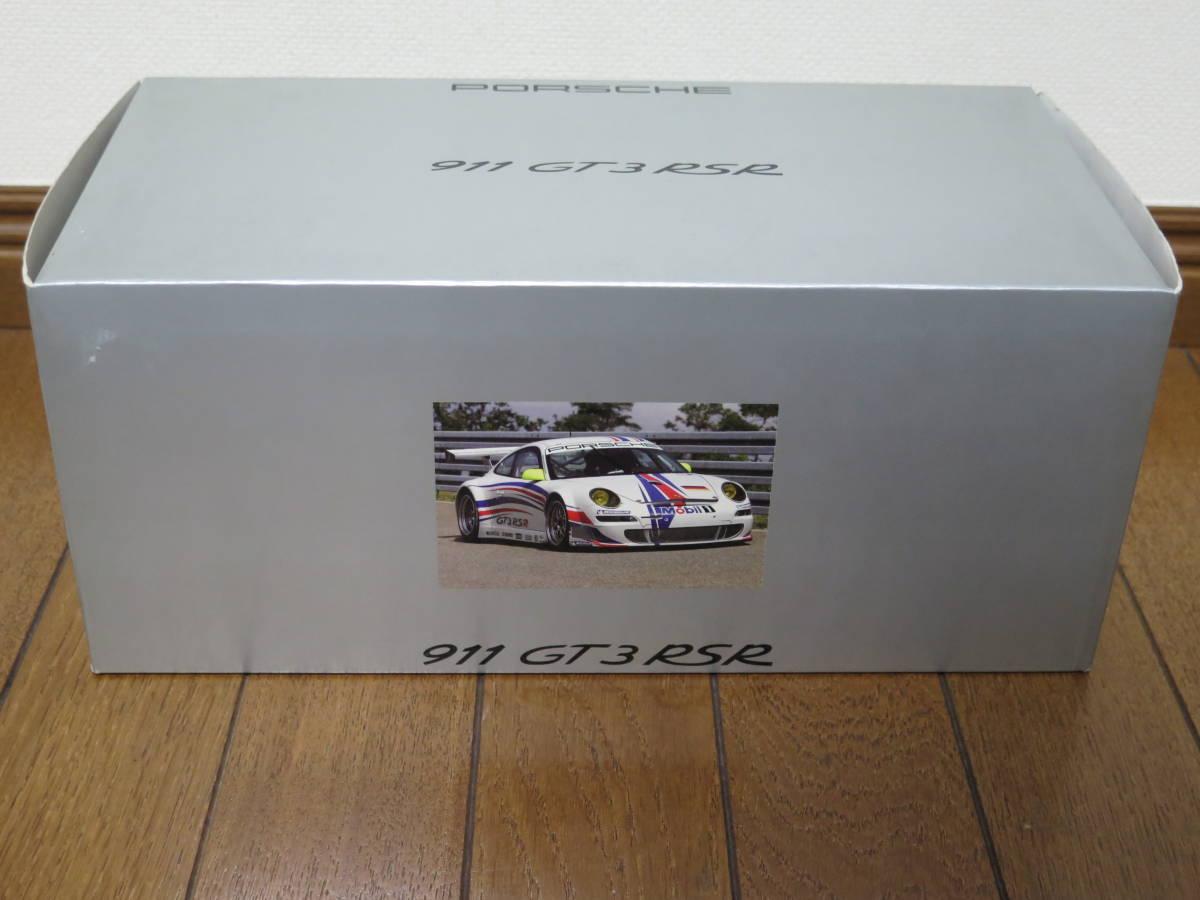 ★AUTOart オートアート 1/18 ポルシェ PORSCHE 911 GT3 RSR 997 PRESENTATION ホワイト