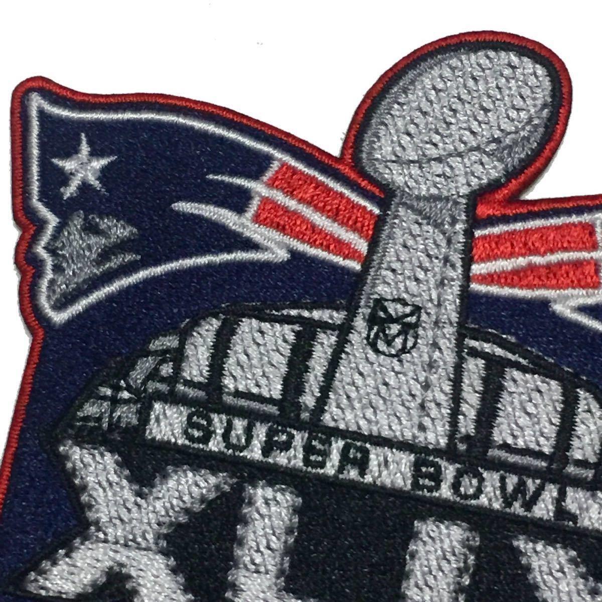 NFL ニューイングランド・ペイトリオッツ スーパーボウル チャンピオン 2015 ワッペン_画像2