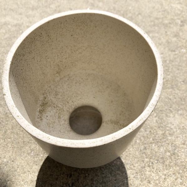 新品即決☆ceramic pot BERTA white鉢カバー☆植木鉢底穴なし陶器プランターカバーポット観葉植物おしゃれモダンアートオブジェ_画像4