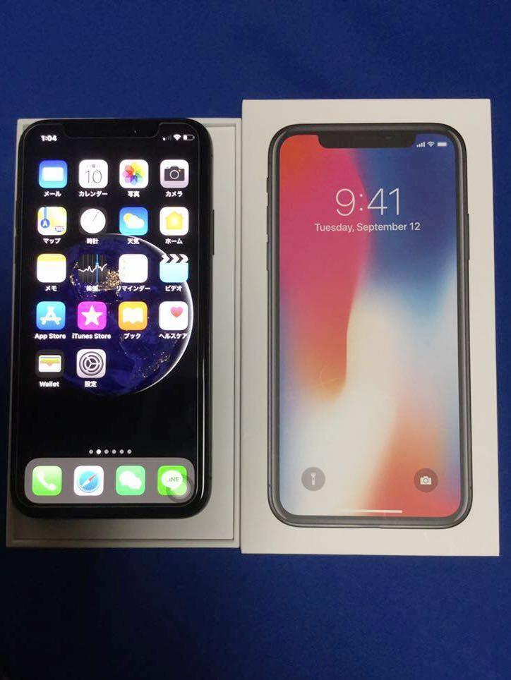 SIMフリー iPhone X 64GB