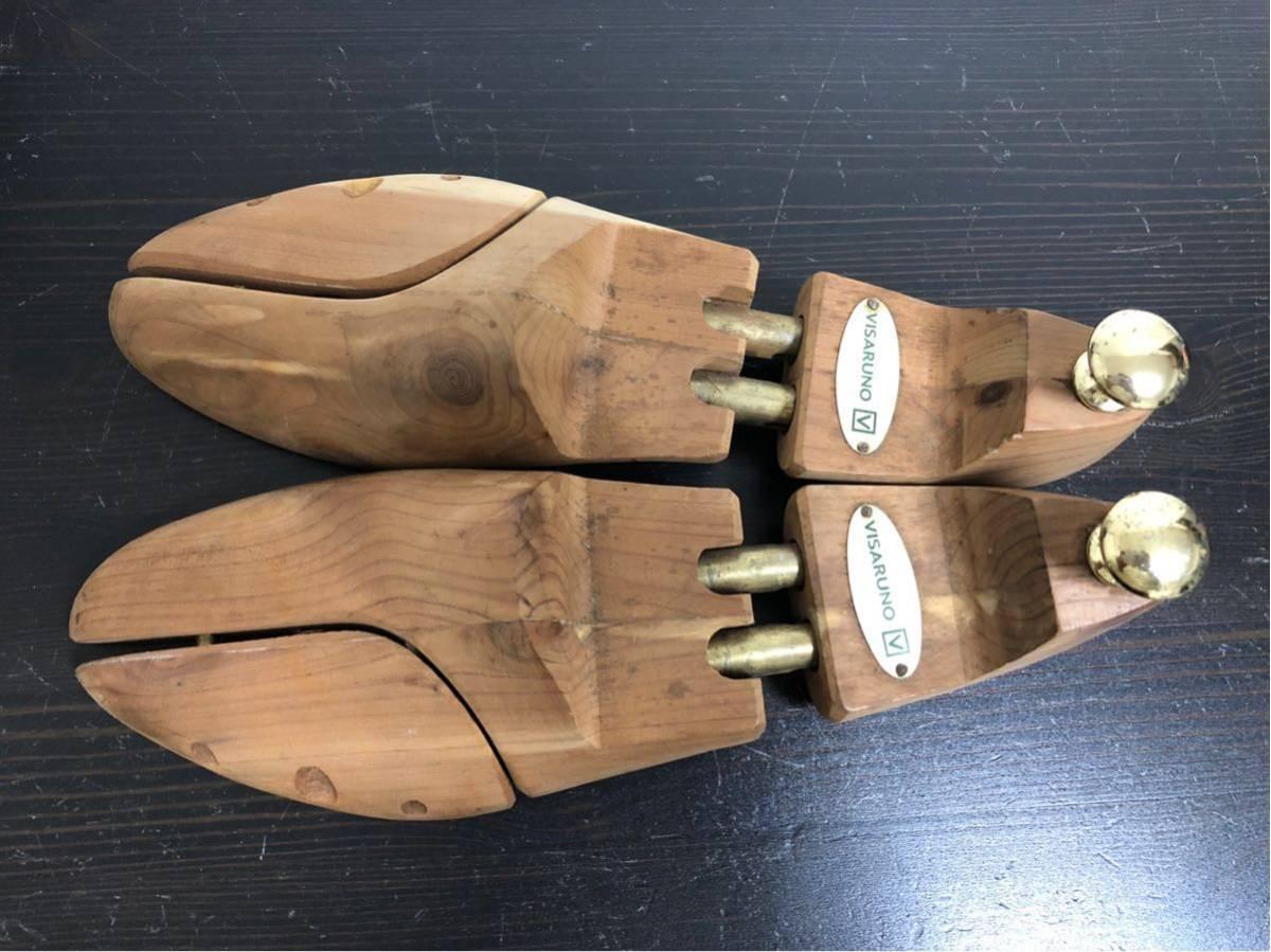 木製ツリーセット J.M.WESTON JMウエストン ゴルフ GOLF 5D ブラウン_画像7