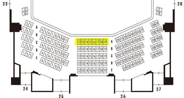 岡田将生「ハムレット」初日 5月9日(木)S席 2階席 最前列 センターブロック_画像2