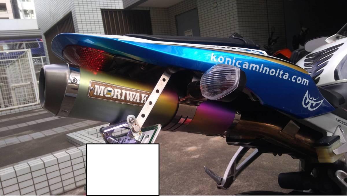 HONDA CBR600RR PC40 2008年式 コニカミノルタ 別体ETC モリワキマフラー付き_画像6