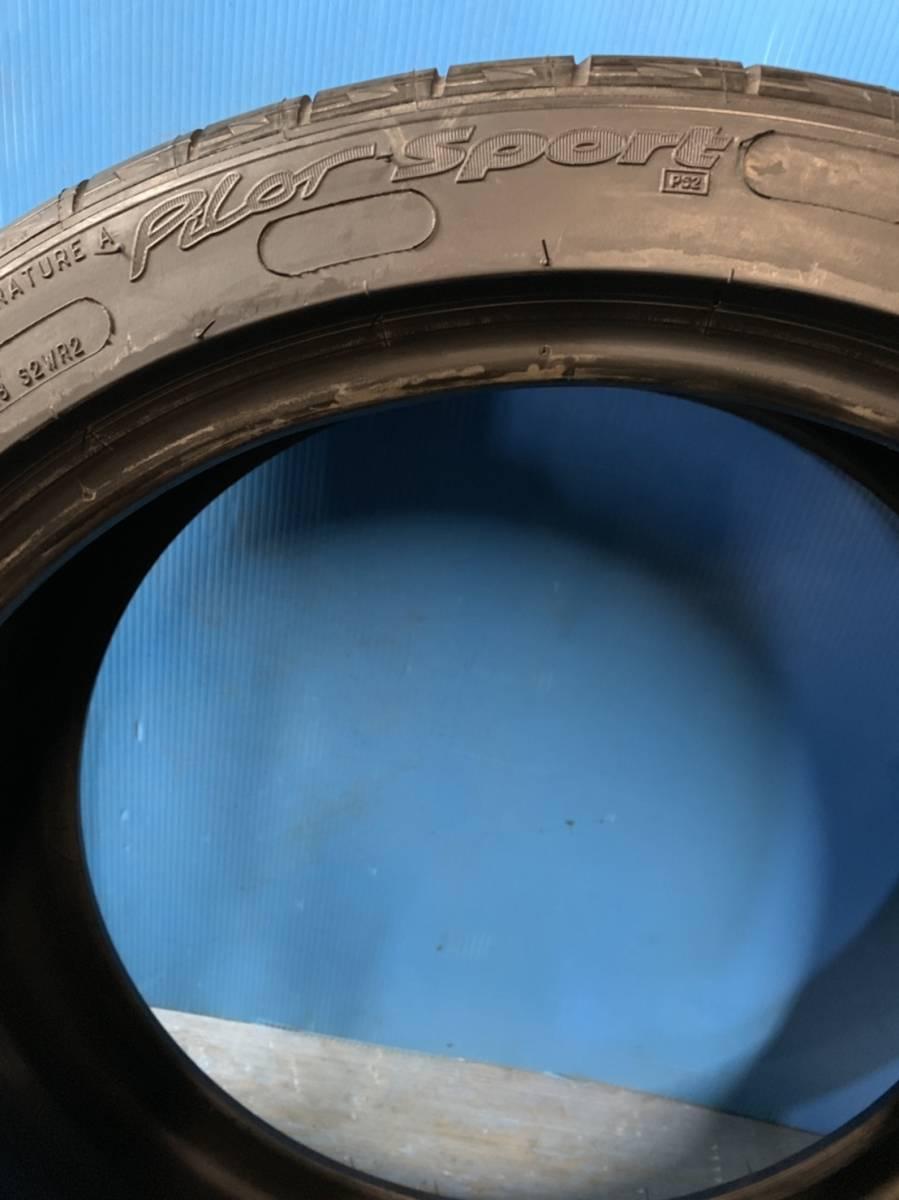 ★バリ山★ 225/40R19 MICHELIN Pilot Sport クラウン マークX アルファード ヴェルファイア オデッセイ レクサス IS F Cクラス 4シリーズ_画像5