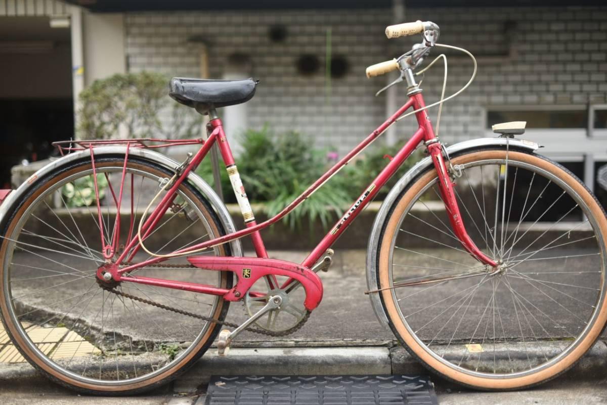 102780 ヴィンテージ 自転車  「HELIUM 」 MADE IN FRANCE レトロ ビンテージ  クラシック イギリス パシュレイ 東京杉並_画像1