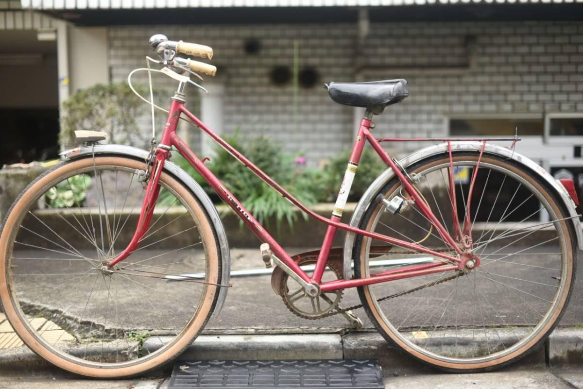 102780 ヴィンテージ 自転車  「HELIUM 」 MADE IN FRANCE レトロ ビンテージ  クラシック イギリス パシュレイ 東京杉並_画像7