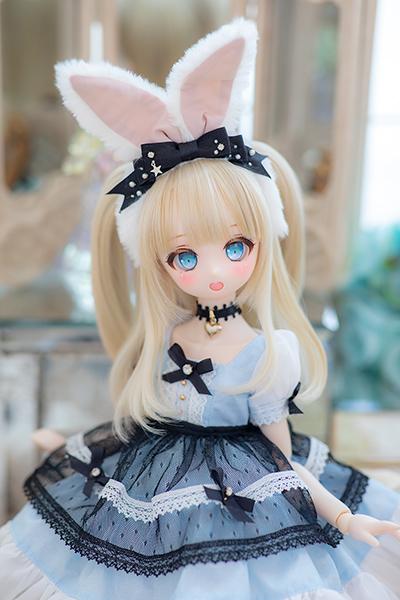 DDH-01 カスタムヘッド セミホワイト肌 ~Patty ~ RonshukaCouture_画像3