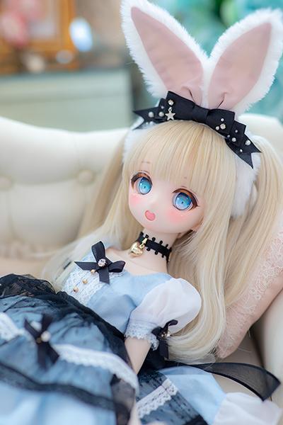 DDH-01 カスタムヘッド セミホワイト肌 ~Patty ~ RonshukaCouture_画像6