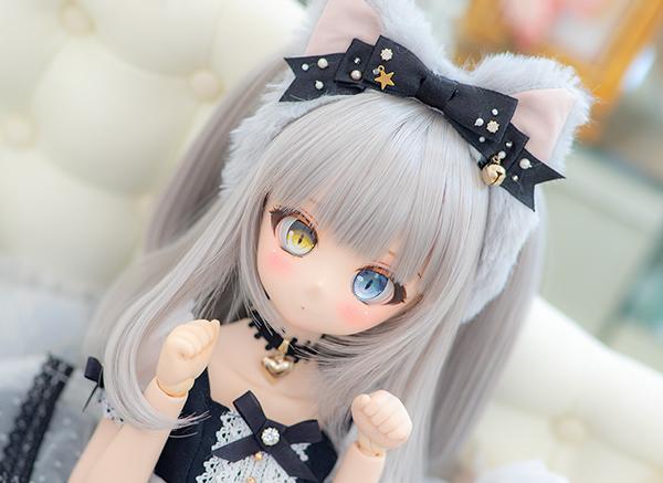 DDH-01 カスタムヘッド ノーマル肌(難あり) ~Kitty ~ RonshukaCouture_画像3