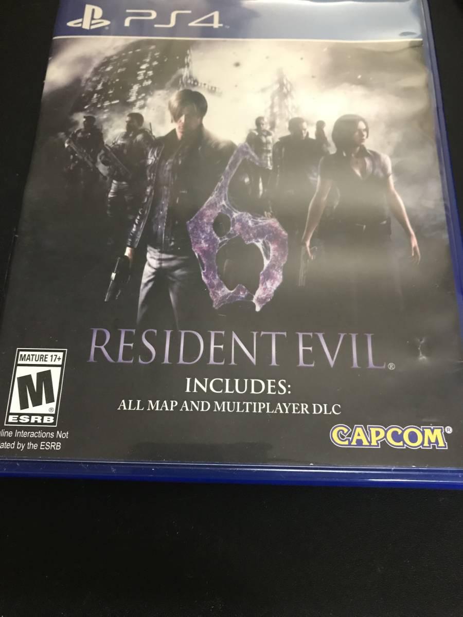 Resident Evil6 海外輸入盤