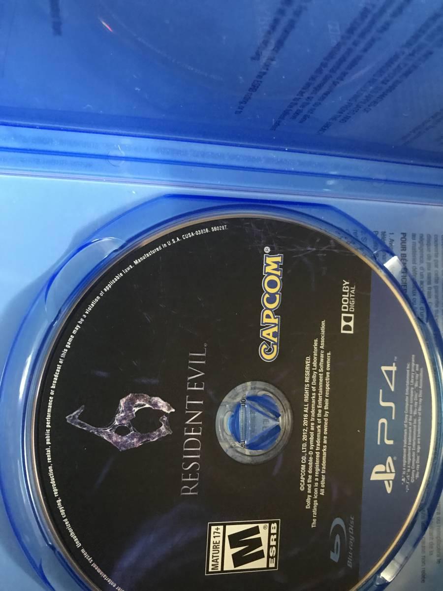 Resident Evil6 海外輸入盤_画像3