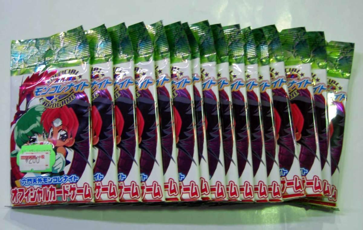 【処分品】 六門天外モンコレナイト オフィシャルカードゲーム ブースター 16パック_画像1