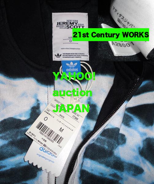 adidas Jeremy Scott ジェレミースコット X-RAY トラックトップ + パンツ 上下 0【偽物注意!】_画像5