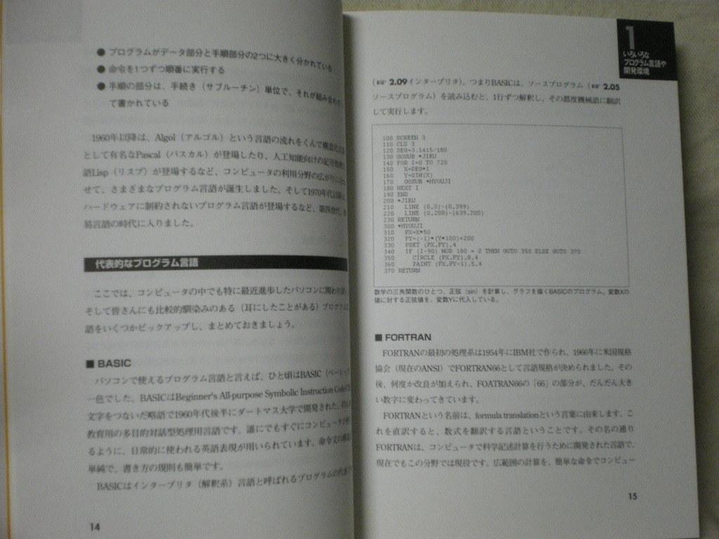 [送料無料] パソコンプログラミング入門以前 伊藤華子 毎日コミュニケーションズ 1999_画像6