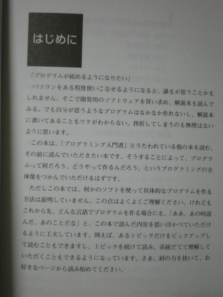 [送料無料] パソコンプログラミング入門以前 伊藤華子 毎日コミュニケーションズ 1999_画像2