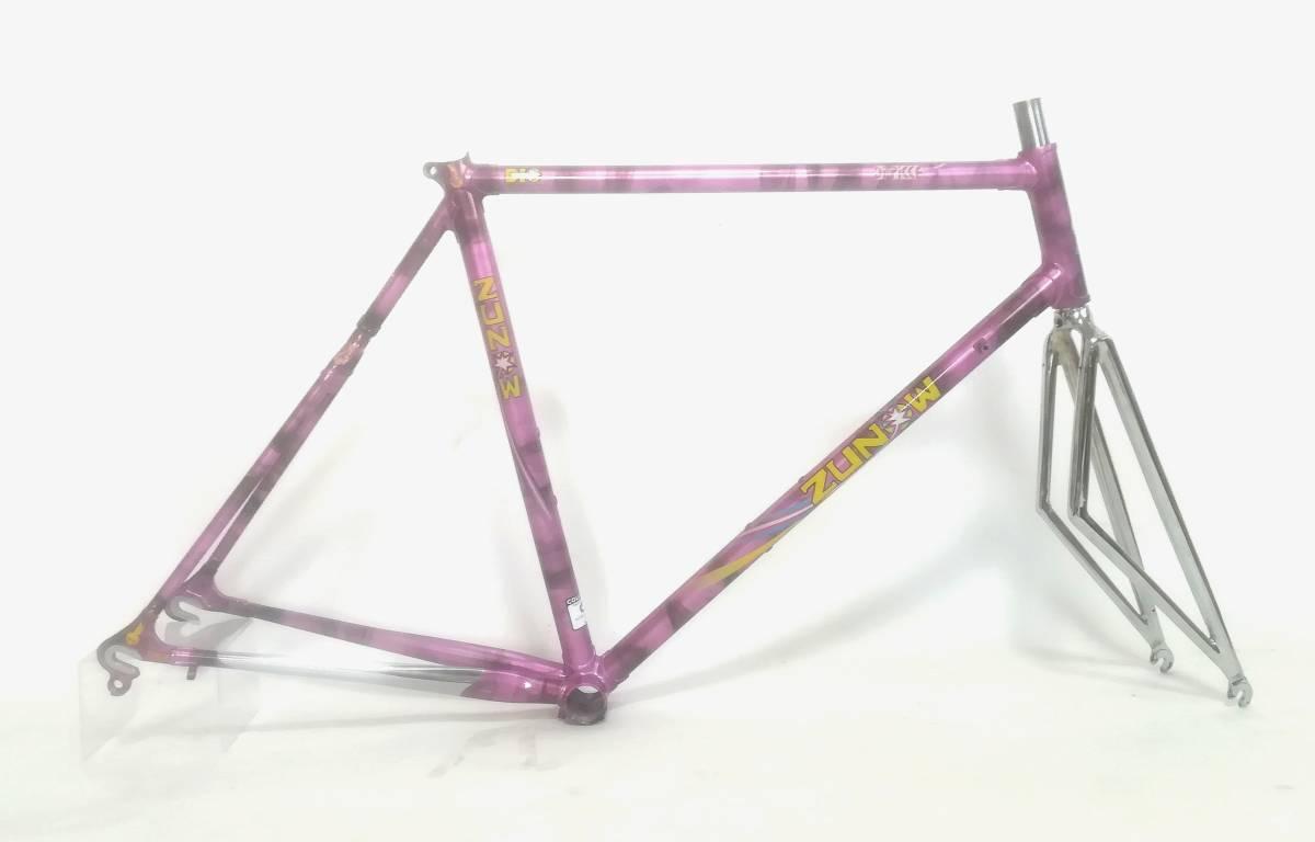 1980年代★ ZUNOW ズノウ コロンバス SL DI PIECE 高級ヴィンテージ ロードバイク ハミングバード ☆ _画像3