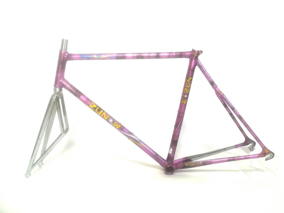 1980年代★ ZUNOW ズノウ コロンバス SL DI PIECE 高級ヴィンテージ ロードバイク ハミングバード ☆ _画像2